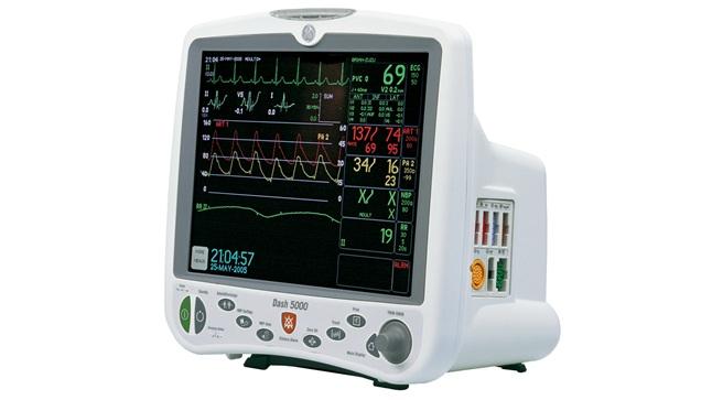 GE Dash 5000 Physiological Monitor - Southeastern Biomedical